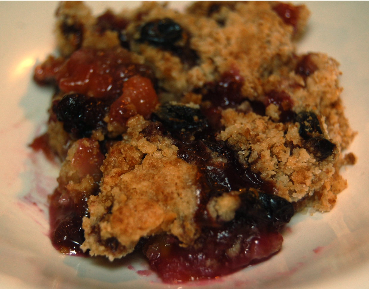 TGIF: blueberry-peach cobbler | Basis™ Good Food Recipes